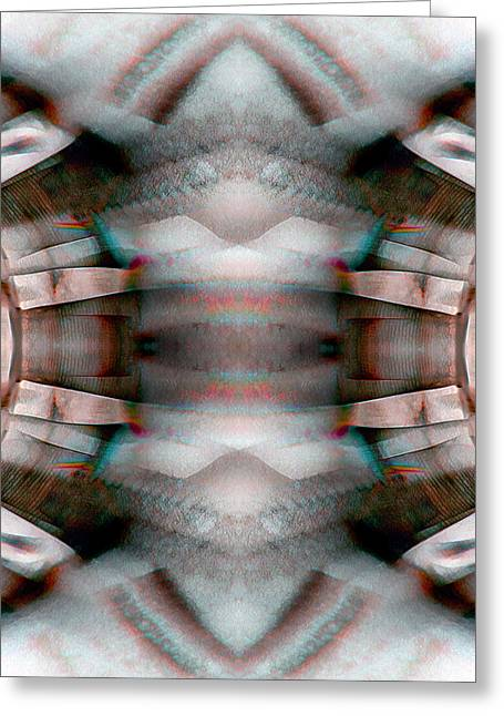 Blanket_0025 Greeting Card by Alex W McDonell