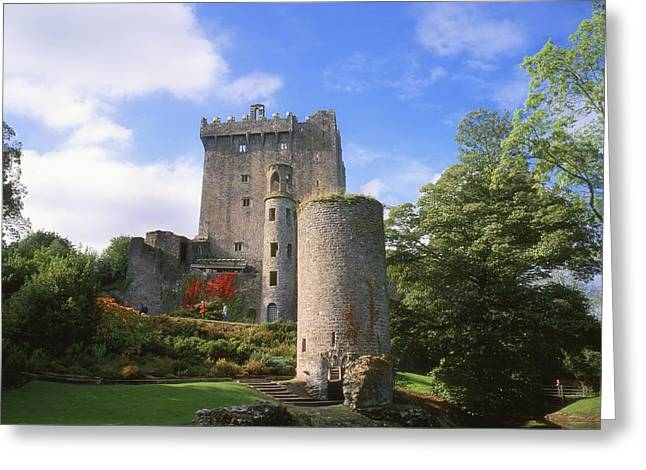 Waist Up Greeting Cards - Blarney Castle, Co Cork, Ireland Greeting Card by The Irish Image Collection