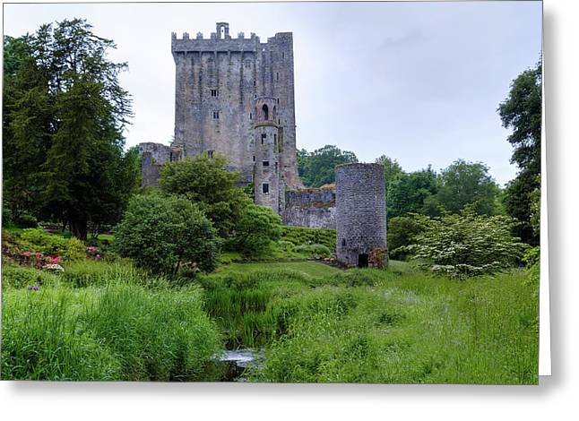 Blarney Castle - Ireland Greeting Card by Joana Kruse