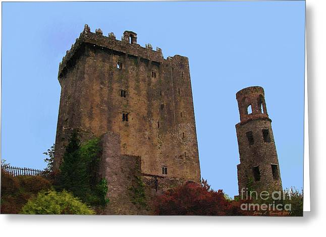 Blarney Castle Greeting Card by Jerry L Barrett