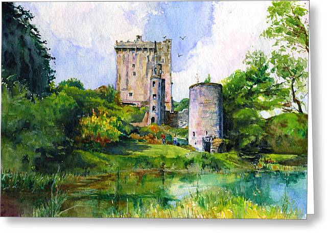 Blarney Castle Landscape Greeting Card
