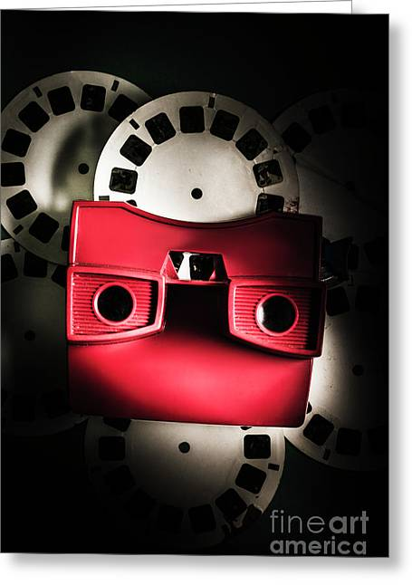 Blast Past A Retro Play Back  Greeting Card by Jorgo Photography - Wall Art Gallery