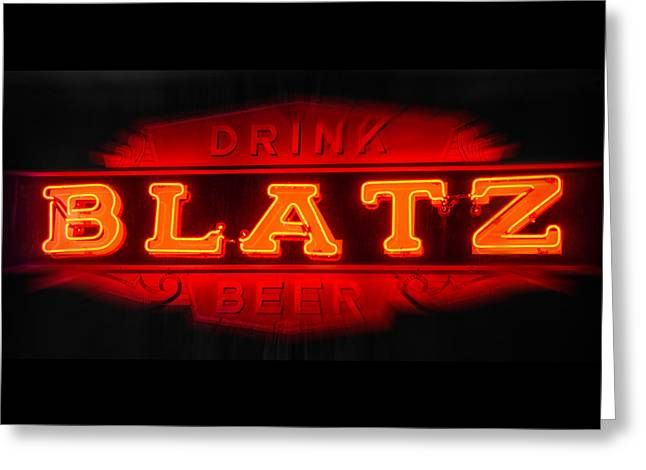 Blatz Beer  Greeting Card