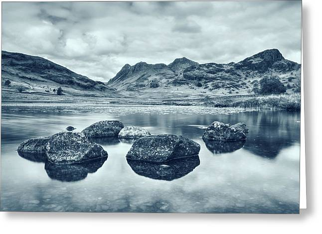 Blea Tarn - Lake District Greeting Card by Joana Kruse
