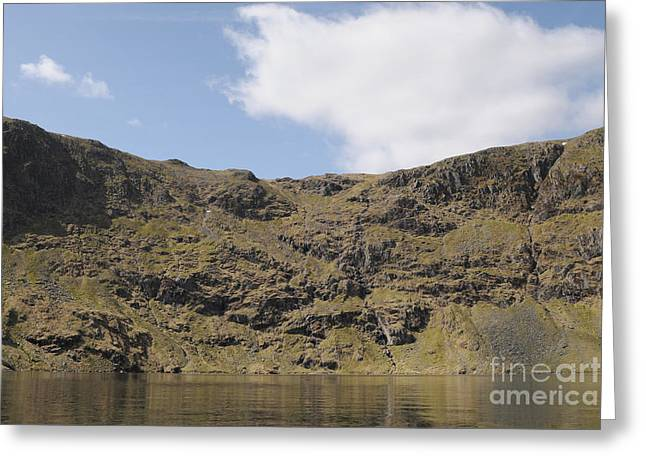 Blea Water Greeting Card by Nichola Denny