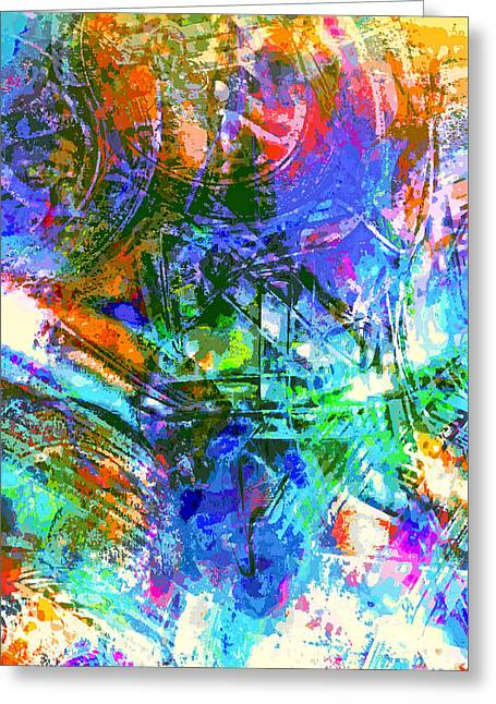 Bleached Vibrance Greeting Card