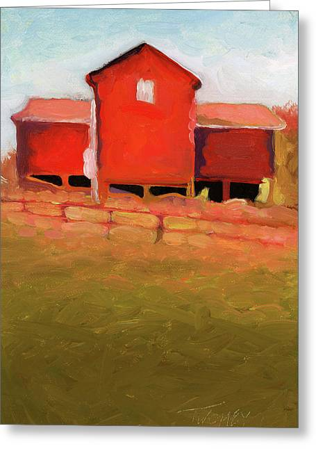 Bleak House Barn No. 4 Greeting Card