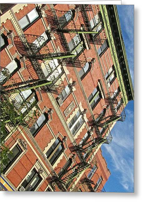 Bleeker Street Angles Greeting Card