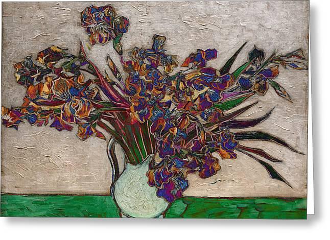 Blend 10 Van Gogh Greeting Card