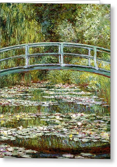 Blend 11 Monet Greeting Card by David Bridburg