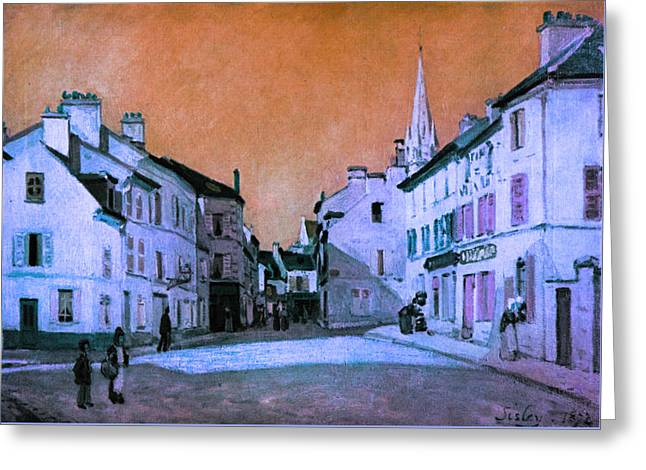 Blend 15 Sisley Greeting Card