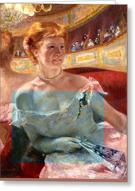 Blend 6 Cassatt Greeting Card