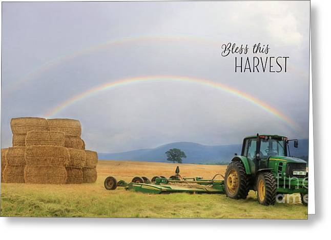 Bless This Harvest Greeting Card