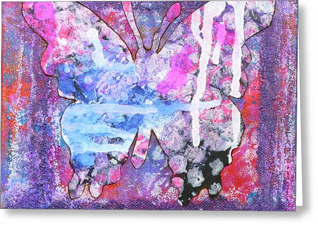 Blessed Butterfly Greeting Card