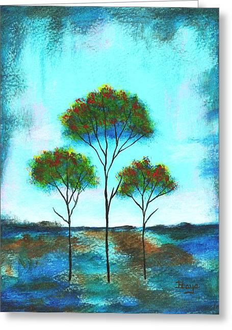 Blessings Greeting Card by Itaya Lightbourne