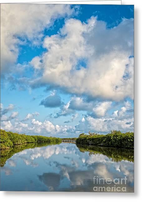Blind Pass Bowman Beach Sanibel Florida Greeting Card