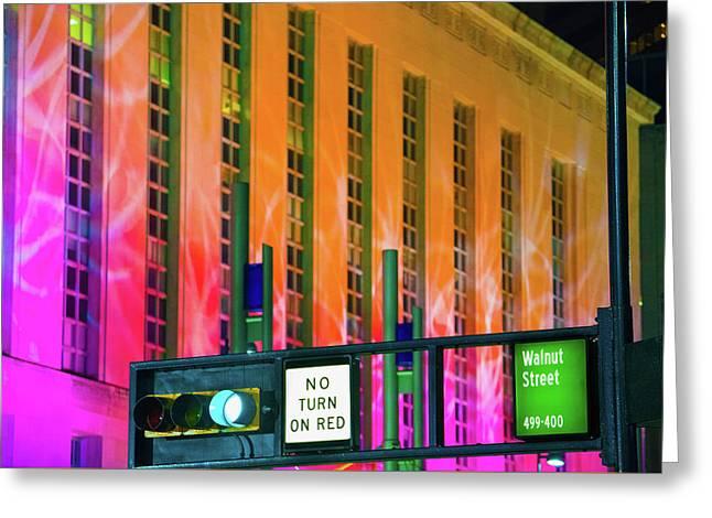 Blink Cincinnati - Potter Stewart U.s. Courthouse Greeting Card