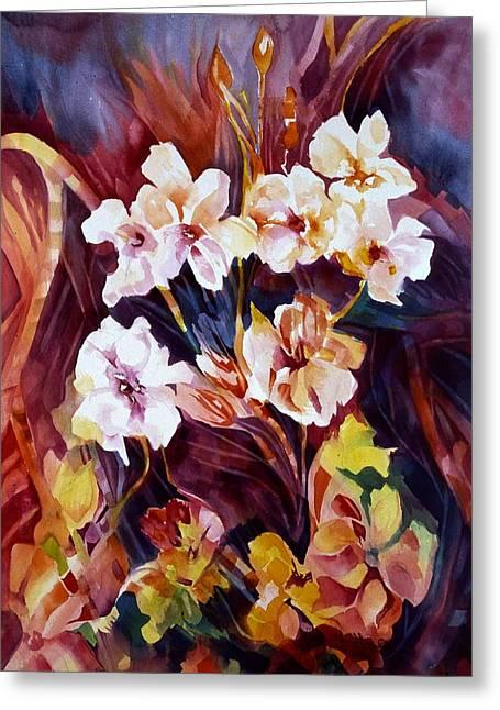 Bliss Greeting Card by Carolyn LeGrand