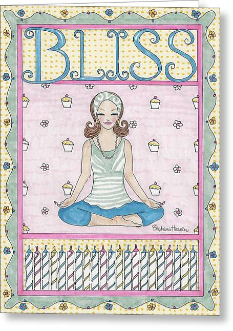 Bliss Greeting Card