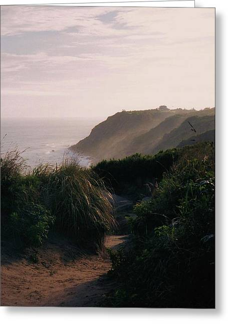 Block Island Greeting Card by John Scates