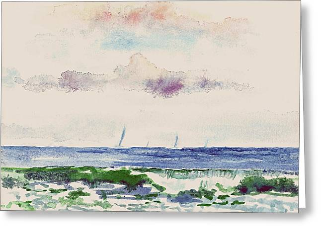 Block Island Sound Greeting Card