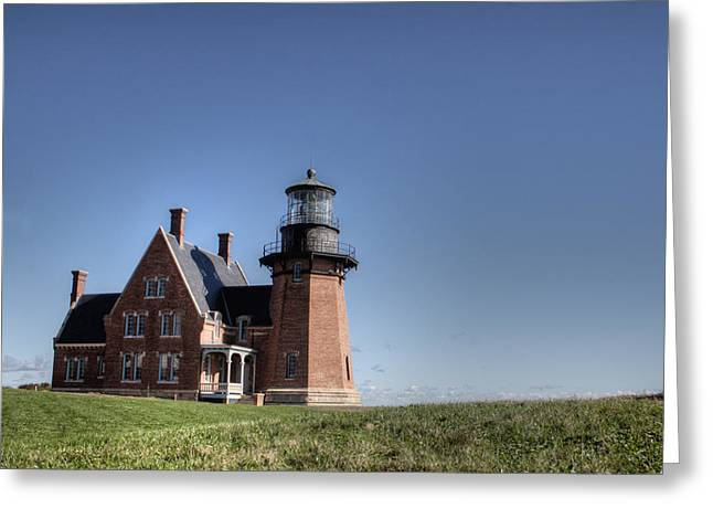 Block Island  Southeast Light Greeting Card