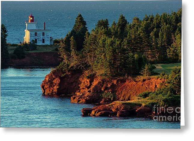 Blockhouse Point Lighthouse Greeting Card