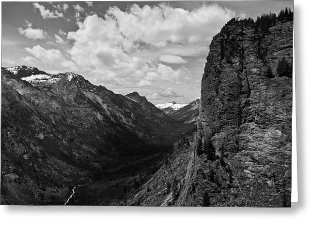 Blodgett Canyon Greeting Card