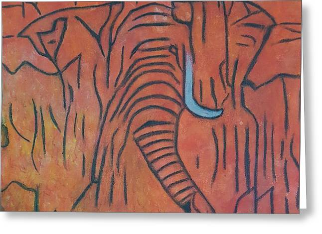 Blood Ivory Greeting Card