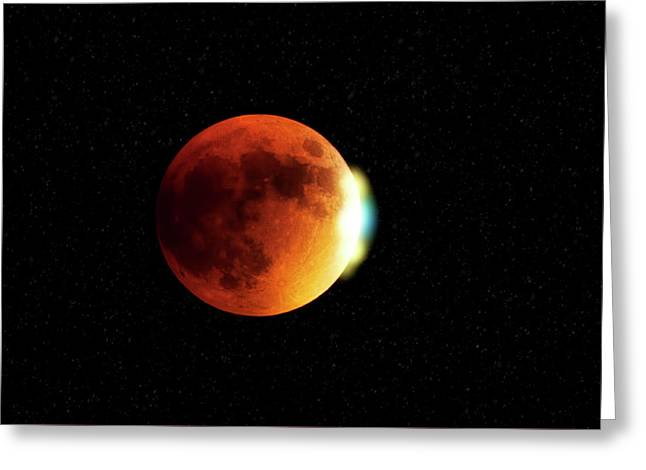 Blood Moon 2015 Greeting Card