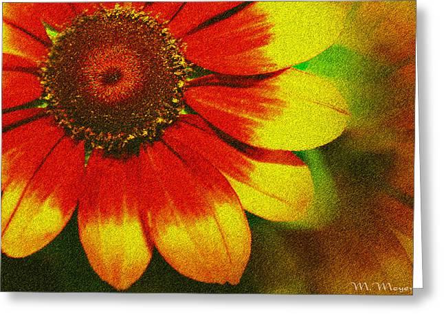 Bloom Greeting Card by Melisa Meyers