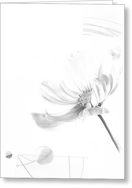 Bloom No. 8 Greeting Card