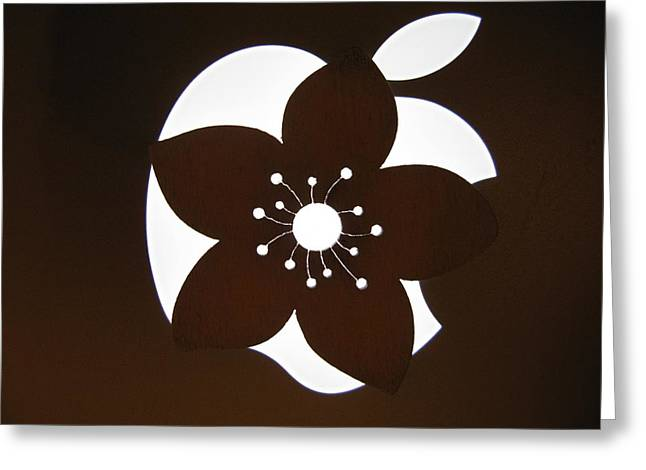 Ausra Paulauskaite Greeting Cards - Blooming Apple Mac Greeting Card by Ausra Paulauskaite