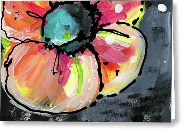 Blooming Wildflower- Art By Linda Woods Greeting Card