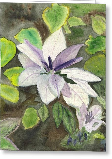 Blossom At Sundy House Greeting Card by Donna Walsh