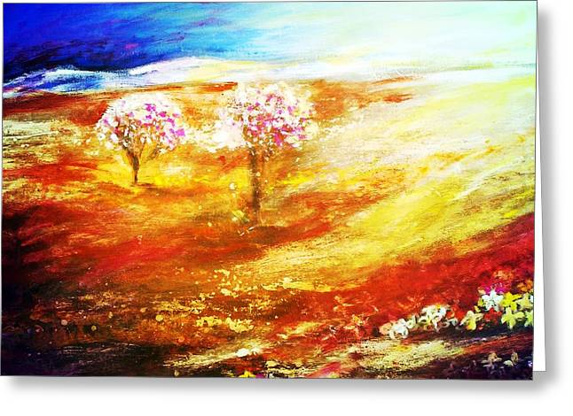 Blossom Dawn Greeting Card