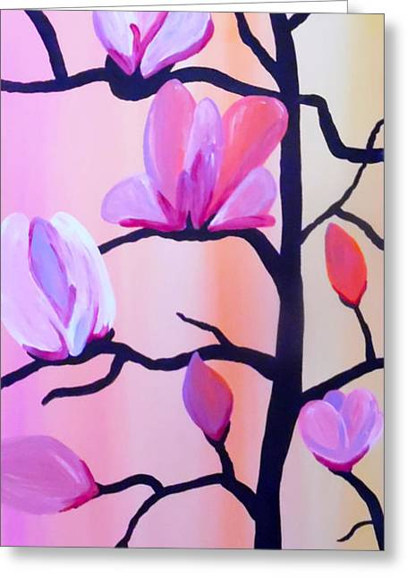 Blossoming Branches Greeting Card