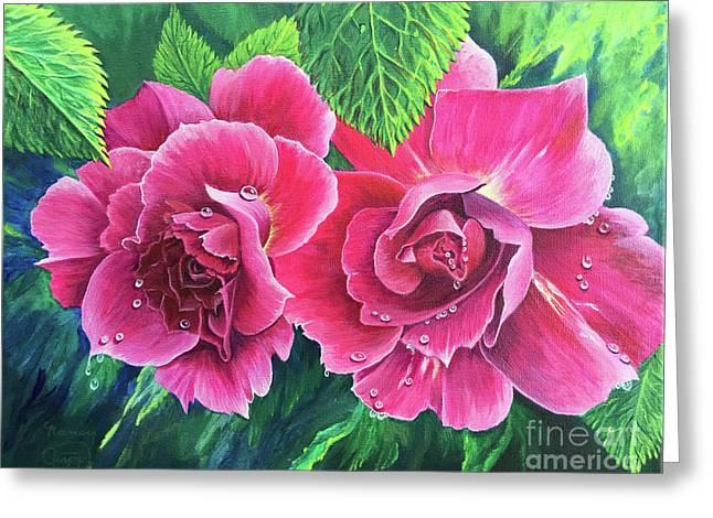 Blossom Buddies Greeting Card