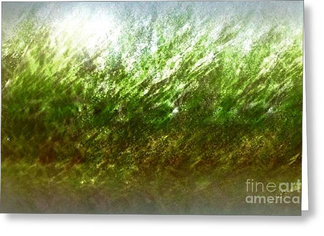 Greeting Card featuring the photograph Blowing In The Wind by John Krakora