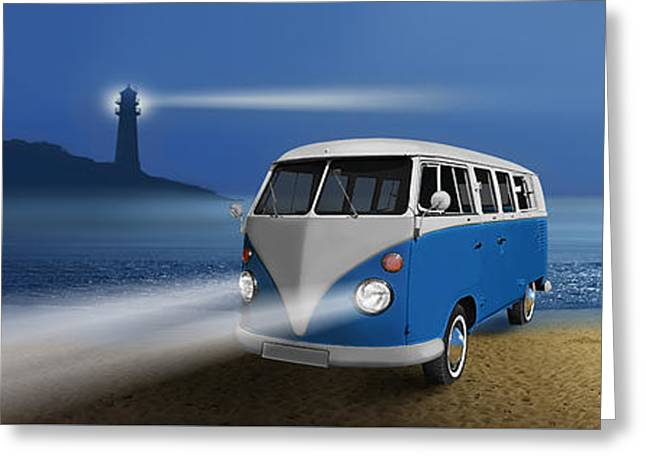 Blue ... Beach ... Bulli Greeting Card