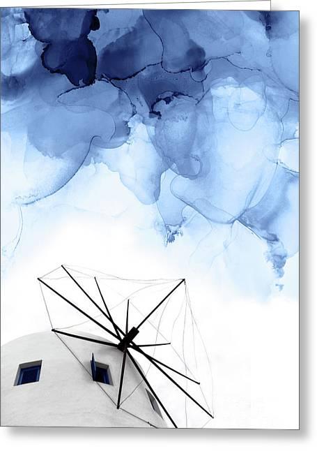 Stormy Weather II Greeting Card