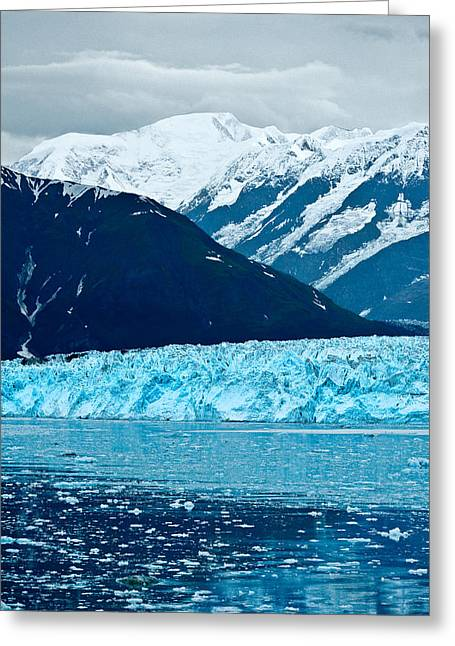 Blue Alaska Greeting Card