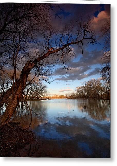 Blue Bayou Greeting Card by Neil Shapiro
