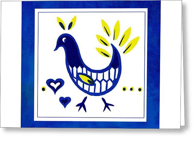 Blue Bird No1 Greeting Card