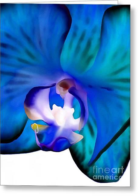 Blue Daydream Greeting Card