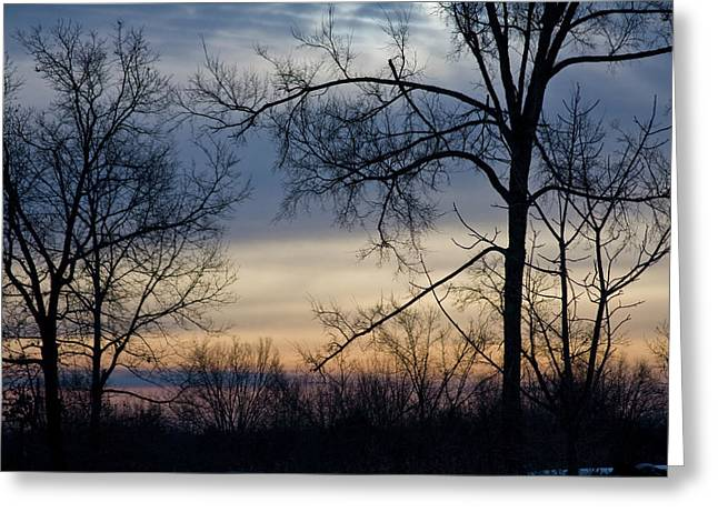 Blue Eye Sunrise Greeting Card