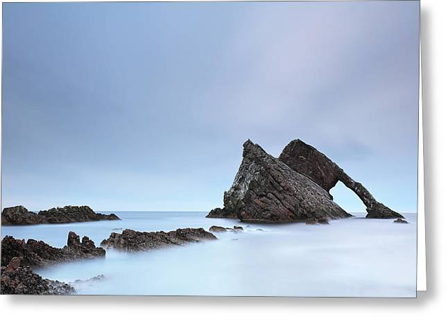 Greeting Card featuring the photograph Blue Fiddle by Grant Glendinning