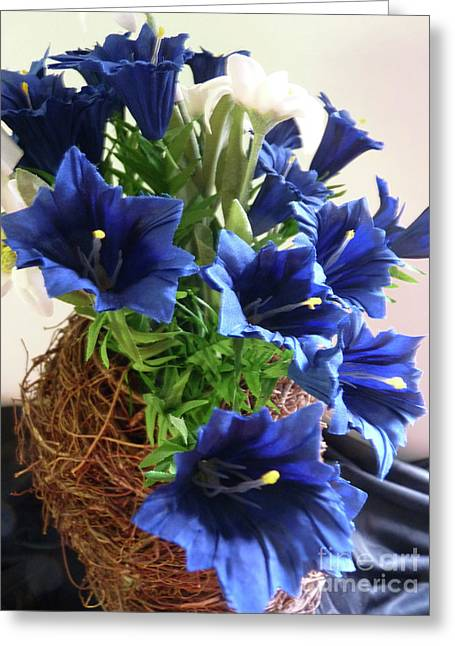 Blue Gentian  Greeting Card