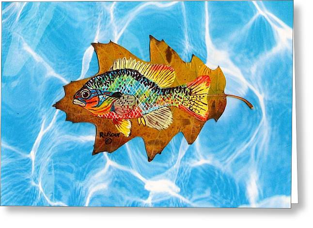 Blue Gill Greeting Card