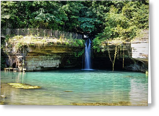 Greeting Card featuring the photograph Blue Glory by Cricket Hackmann